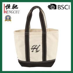 Ecológico de pano de saco reutilizável Maleta 100% algodão Natural Saco sacola de compras de mercearia de bolsas de lona