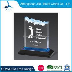 2021의 최신 인기 상품 기념품 선물로 도매에 의하여 주문을 받아서 만들어지는 선전용 금속 기술 금 알루미늄 합금 또는 Polyresin 또는 유리 또는 결정 포상 컵 트로피