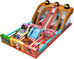 Les animaux château gonflable Jouets gonflables diapositive pour l'Amusement Park