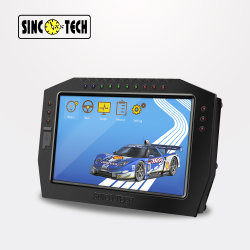 """ダッシュボードTFTのタッチ画面のターボ速度の回転速度計の電圧再結集クラスタを競争させるDo909 Sincotech 7 """""""