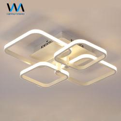 Для использования внутри помещений LED современный алюминиевый квадратный потолочный светильник рассеянного света