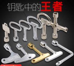 Chave de bloqueio da caixa de ferramentas, chave de bloqueio da porta do painel de porta do armário eléctrico Lockkey, Cam Lock, Al-Ms705key