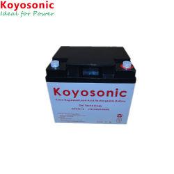 Faible Self-Discharge 12V 24Ah Batterie Gel batterie télécom