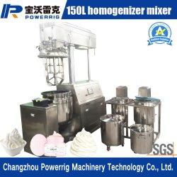 装飾的なクリーム色のローションのための自動100Lミキサーのホモジェナイザーの乳化機械