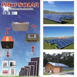 고품질 2kw 소형 태양 에너지 에너지 시스템