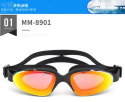 Gli occhiali di protezione su ordinazione di nuoto di marchio comerciano gli occhiali di protezione all'ingrosso di nuotata dell'OEM