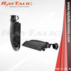 Funksprechgerät-Audioadapter für Motorola Gp340 hallo Verbinder zum Rosen-6pin