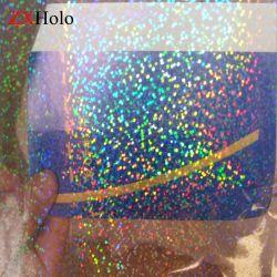 왁스 폭 1800 일반의 mm 홀로그램 패턴 BOPP 자필 투명한 박판 필름