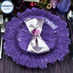 Paibee parte Cargador de alquiler de plato de vidrio vajilla Wholesales barata menaje de cocina