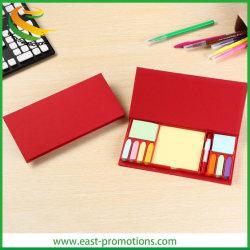 Promotion personnalisée mémo Notes adhésives avec boîte en carton