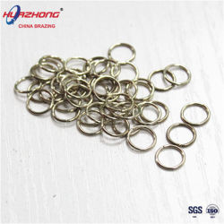 電極の溶接材料の銀製のろう付けの合金銅亜鉛リング