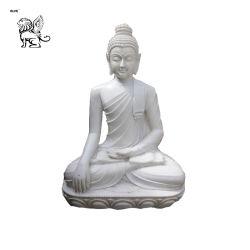 Prezzo di seduta indù Mfsg-45 della scultura della statua di marmo del Buddha del dio indiano della fabbrica