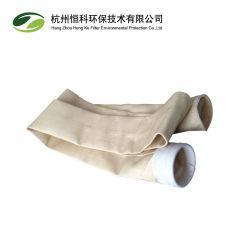 Nomex aramide Sac filtre de collecteur de poussière pour l'industrie