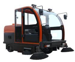 De volledig Gesloten Elektrische Straatveger van de Auto van de Workshop Vegende, de Schoonmakende Bezem van de Vrachtwagen