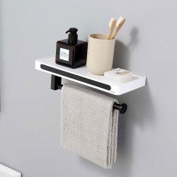 Acero inoxidable 304 Sanitarios en la pared de baño baño bañera wc cuarto de baño Hotel Juego de anillo de toalla de resina ABS