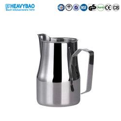 Heavybao guirnalda de acero inoxidable taza de café Frother jarra de leche