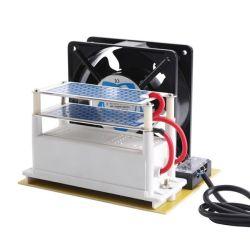 Hf178 AC 110V/220V 10g/h generador de ozono esterilizador de aire doble placa de cerámica Ozonizer con ventilador