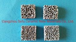Filtro di ceramica dalla gomma piuma di Sic per la filtrazione dei pezzi fusi non ferrosi delle leghe