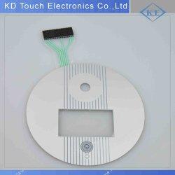Berührungslose Folientastatur mit Metalloberfläche und Pet Printing Circuit