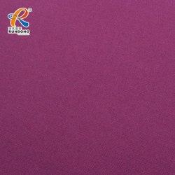 Taffetas de polyester Tissu enduit de PVC avec WR 30kg pour le PVC imperméable imperméable