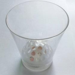 De LEIDENE van de Bal van de disco Kop die van de Projector de Plastic Mok van het Bier van de Whisky opvlammen