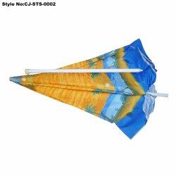 Горячая продажа рекламных цифровой печати Canvas пляжный зонтик
