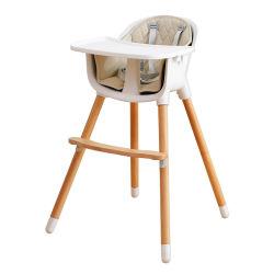 Höhen-justierbares Baby-führender Stuhl mit Kissen-hohem Stuhl