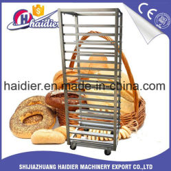 Carrello del cassetto dell'acciaio inossidabile di vendita/cremagliera della cucina/carrello caldi del forno