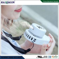 moteur sans balai de vente chaude 3 Changement de vitesse du vent et de pulvérisation réglable Humidification ventilateur portable Corde de levage