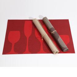 Vinile di vendita caldo stuoia della Tabella pranzante e di Placemat rotondo del PVC per l'hotel del ristorante