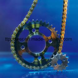 1045المقاوم للصدأ الفولاذ قطع غيار سلسلة العجلة المسننة CG/Titan/TMX/Italika