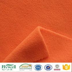 100 % laine polaire de polyester pour les gilets de sécurité dans le Néon orange