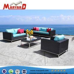 Set di divani di lusso in rattan per esterni, arredamento in rattan sintetico adatto Per progetti di tempo libero in yacht