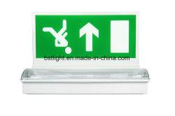 Sortie de secours de LED Haute luminosité signe avec l'exécution de l'homme