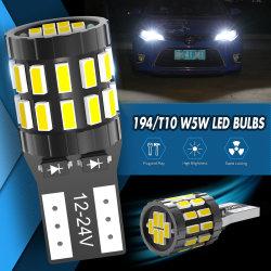 T10 LED Lampe Canbus W5W 168 194 Jeu Feux de stationnement pour Audi A6 C5 C6 C7 A3 8p 8V4 B5 B6 B7 B8 A5 A7 A8 Q3 Q5 Q7 TT R8