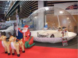 De opblaasbare Showcase van de Bel van de Auto van de Bol van de Sneeuw