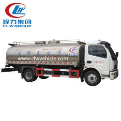Dongfeng 4X2 Volume en acier inoxydable 10cbm 20cbm 40cbm camion de lait