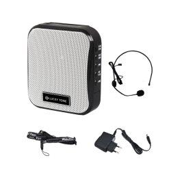 система туристических раций Аккумуляторы портативных талии АС с FM, USB, TF/SD, Aux и Входы микрофона и поставляется в комплекте с микрофоном головки блока цилиндров