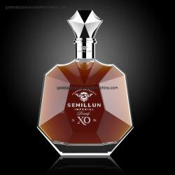 700ml nuevo diseño de la botella de licor de vidrio Flint Super