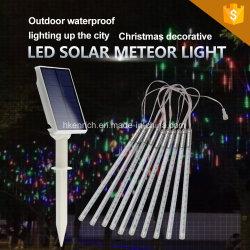 Indicatore luminoso solare dell'acquazzone di meteora del LED per la decorazione di festa