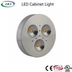 Indicatore luminoso ultra sottile del Governo di 3W LED per tutta la mobilia