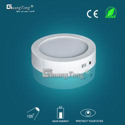 표면에 의하여 거치되는 LED 위원회 빛 6W/12W/18W/24W 천장 램프 Downlight