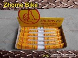 Parties de bicyclettes/solution en caoutchouc, kit de réparation, patch à froid, de la marque Thumbs up