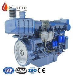 500 HP используется для дизельного двигателя на лодке с морскими коробки передач
