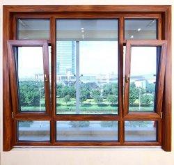 좋은 Quality 및 Reasonable Price Aluminum Double Glass Window (TS-1006)