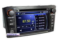 Radio de coche navegación GPS, reproductor de DVD para Toyota Avensis