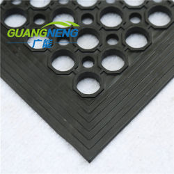 Factory Direct / tapis de sol en caoutchouc de gros de la graisse et de drainage Water-Resistant Tapis de sol en caoutchouc