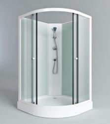 Weißes modernes Bad-preiswerter Aluminiumlegierung-Dusche-Kabine-Größen-Preis
