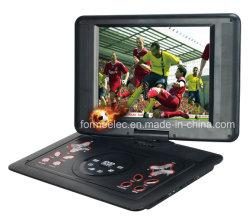 """Leitor de DVD portátil de 12,1"""" com jogo de FM de TV"""
