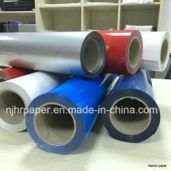 Fácil Cuting Color Intenso Film de transferencia de calor / PU basado vinilos Ancho 50 cm de longitud 25 m de tejido para todos